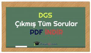 dgs_cikmıs_tüm_sorular