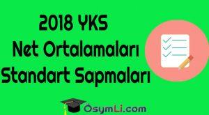 2018-YKS-Net-Ortalamaları-Standart-Sapmaları