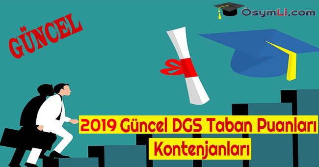 2019-Guncel-DGS-Taban-Puanlari-Kontenjanlari