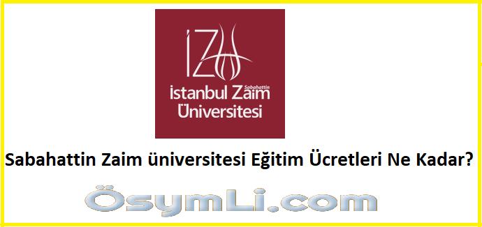 sabahattin-zaim-üniversitesi-2020-egitim-ücretleri