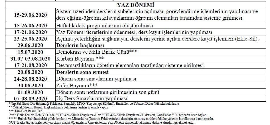 paü-yaz-okulu-2019-akademik-takvimi