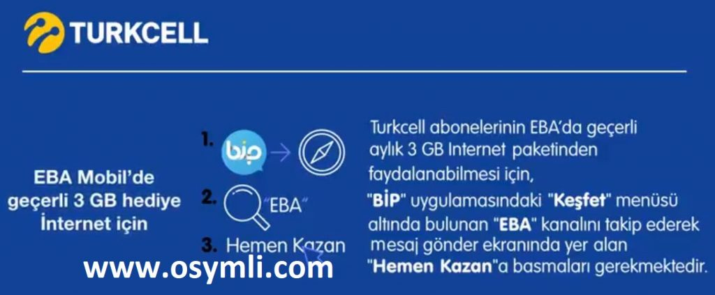 turkcell-eba-hediye-internet-kampanyası-nasil-yapilir