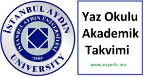 İstanbul-Aydın-Üniversitesi-yaz-okulu-akademik-takvimi
