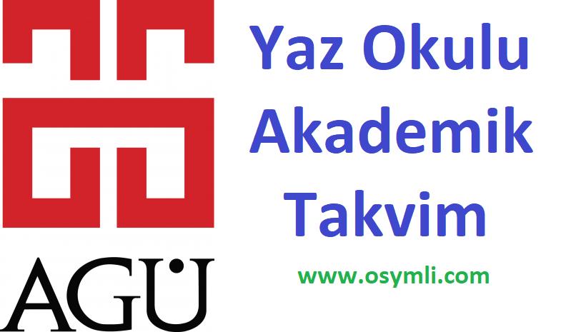 Abdullah-Gül-Üniversitesi-yaz-okulu-akademik-takvim