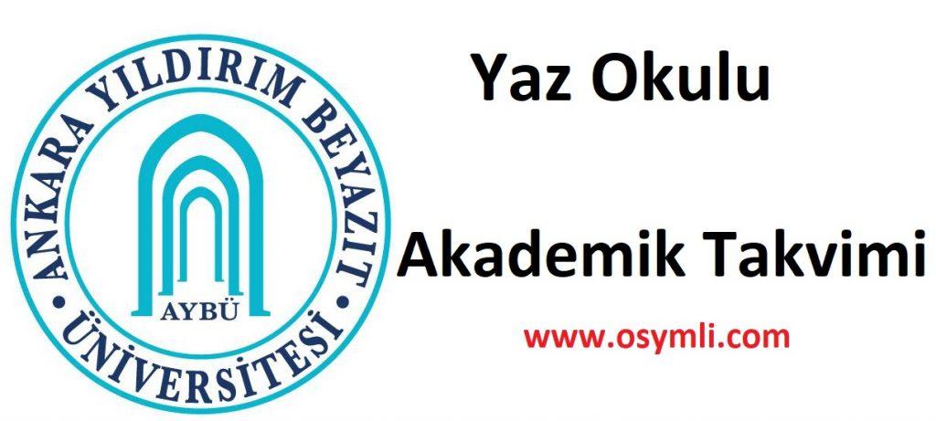 Ankara-Yıldırım-Beyazıt-Üniversitesi-AYBÜ-yaz-okulu