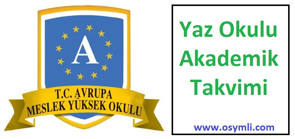 Avrupa-Meslek-Yüksekokulu-akademik-takvimi