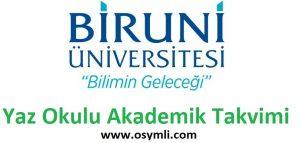 Biruni-Üniversitesi-yaz-okulu-akademik-takvimi