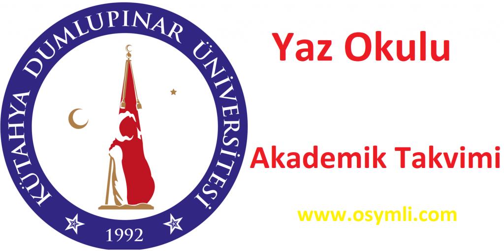 Kütahya-Dumlupınar-Üniversitesi-yaz-okulu-akademik-takvim