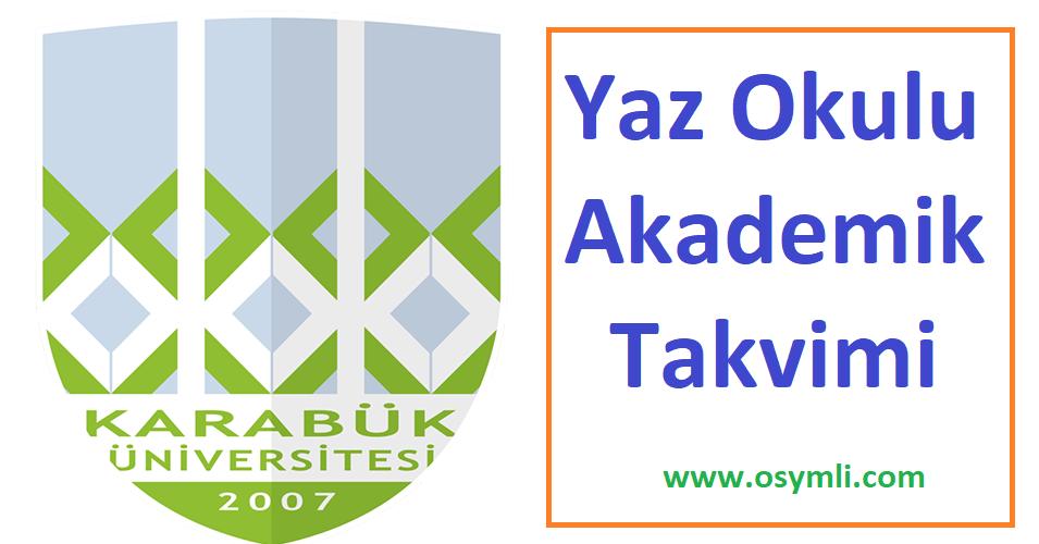 Karabük-Üniversitesi-yaz-okulu-akademik-takvimi