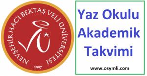 Nevsehir-Hacı-Bektaş-Veli-universitesi-yaz-okulu-akademik-takvimi