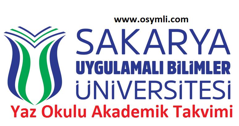 Sakarya-Uygulamalı-Bilimler-Üniversitesi-SUBÜ-yaz-okulu-akademik-takvimi