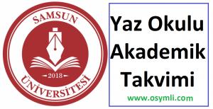 Samsun-universitesi-yaz-okulu-akademik-takvimi