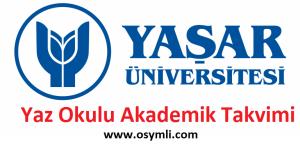 Yasar-Üniversitesi-yaz-okulu-akademik-takvimi