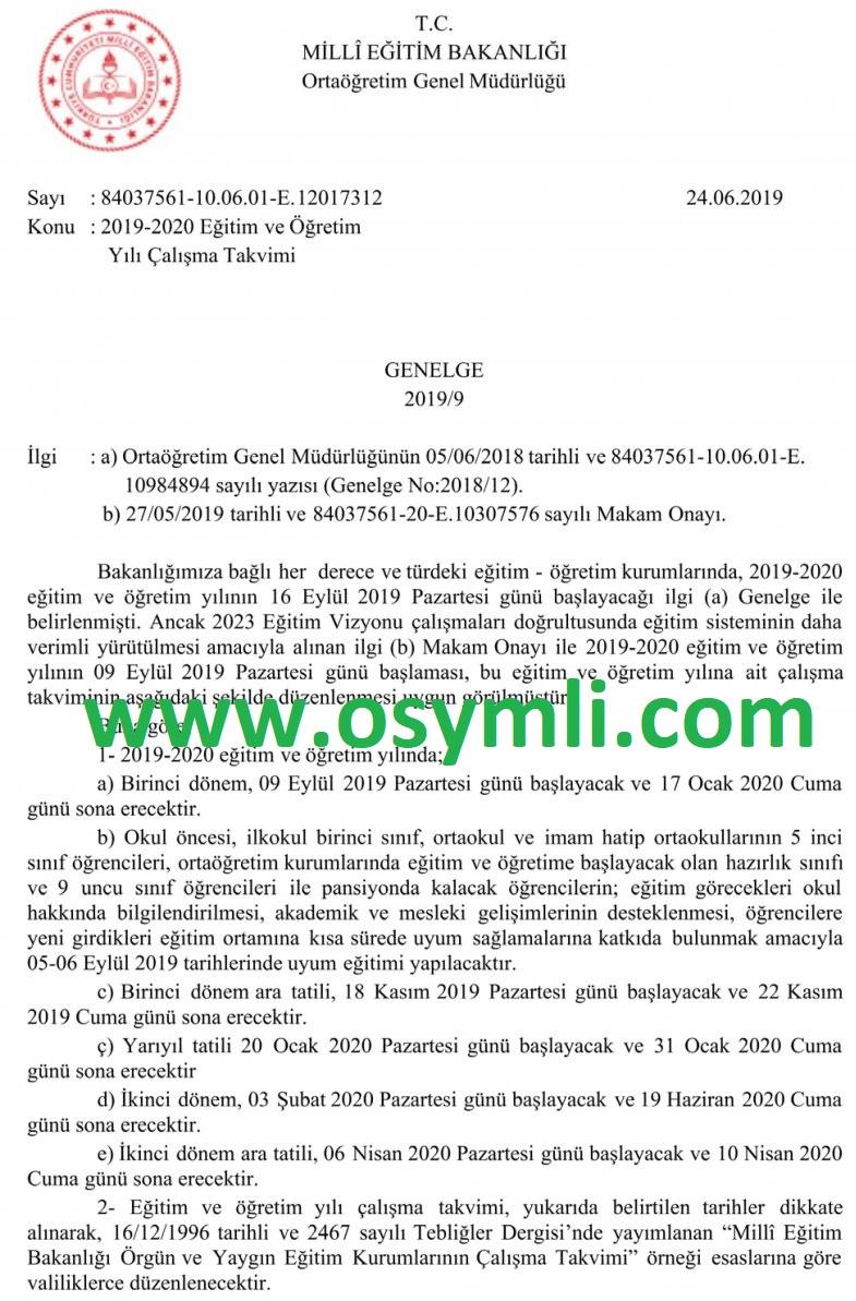 2019-2020-meb-calısma-takvimi-ara-tatiller-ne-zaman-okullar-aciliyor-resmi-yazi
