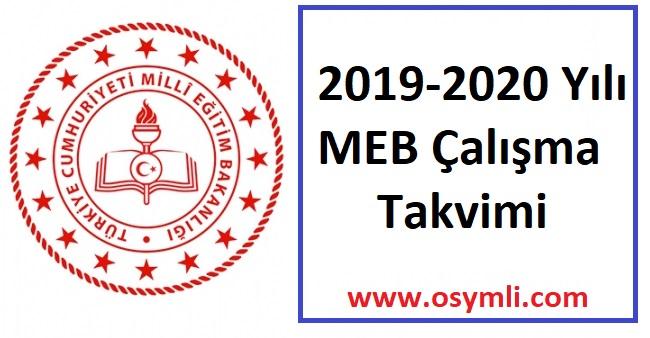2019-2020-meb-calısma-takvimi-ara-tatiller-ne-zaman-okullar-aciliyor