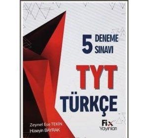 tyt-turkce-5li-deneme-sinavi-fix-yayinlari-deneme-onerileri