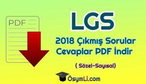 2018-LGS -Sözel-sayısal-cıkmıs-Sorular-ve-Cevapları-PDF-İndir