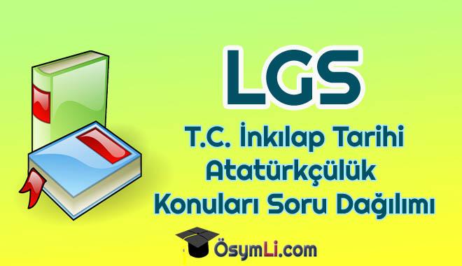 lgs-TC-İnkılap-Tarihi-ve-Atatürkcülük-konulari-soru-sayisi