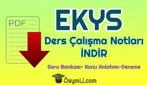 ekys_calısma_notlari_indir_pdf
