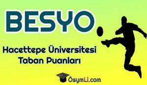 hacettepe_universitesi_Besyo_Taban_Puanlari_2020_basari_sirasi