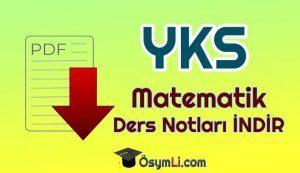 yks_tyt_ayt_matematik_ders_notlari_pdf_indir