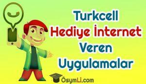 Turkcell_Hediye_İnternet_Veren_Uygulamalar_2020